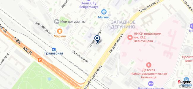 АльфаЛЭД на карте