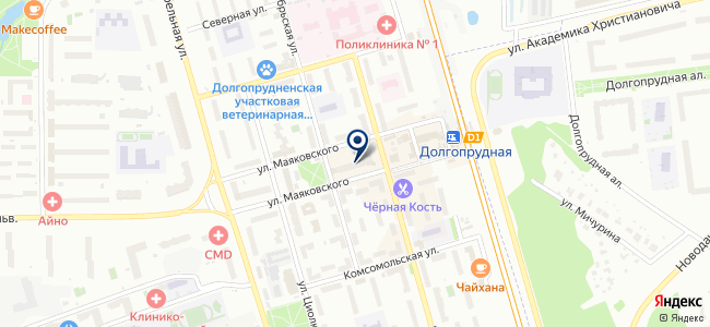 Студио НП на карте