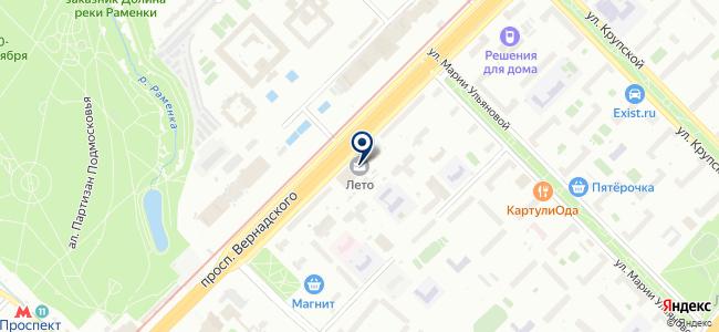 ЕЛТК на карте