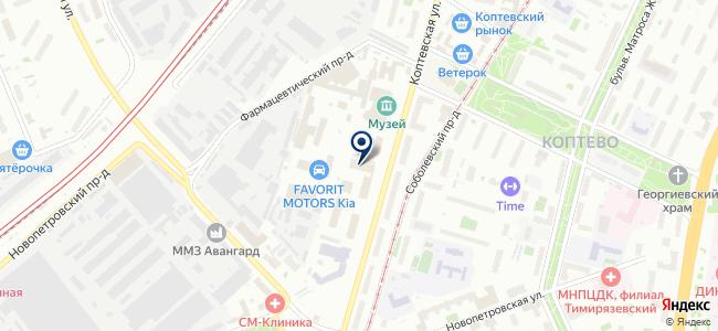 Партнер Электро на карте