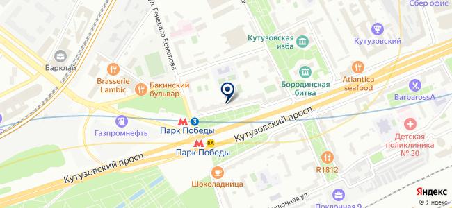 МБТМ на карте