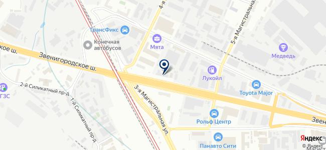 SmartRack на карте