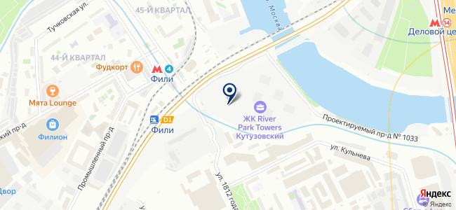 РЭГР на карте