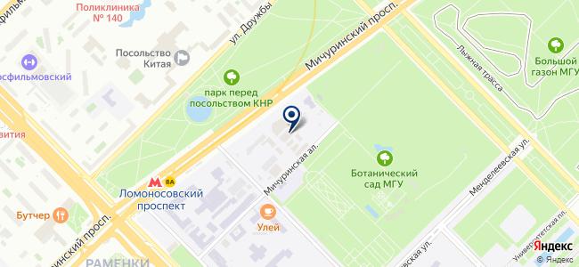 Атолл, ЗАО на карте