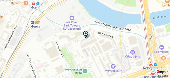 НАВИС на карте