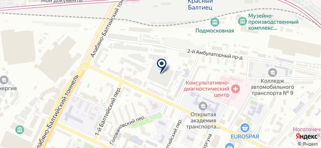 Станкосервис-Сокол, ООО на карте