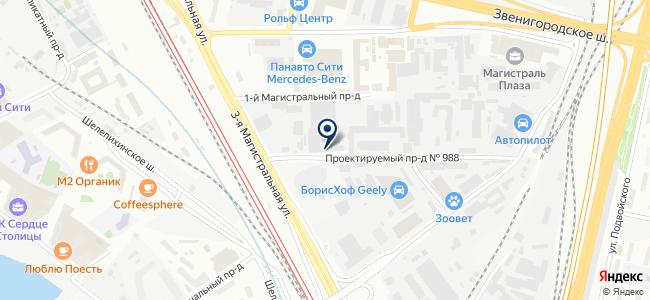 ИнтерГаз на карте
