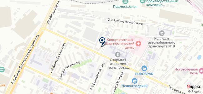 Торговый Дом Тинко, ООО на карте