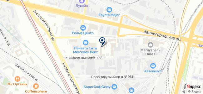 CyberPower на карте