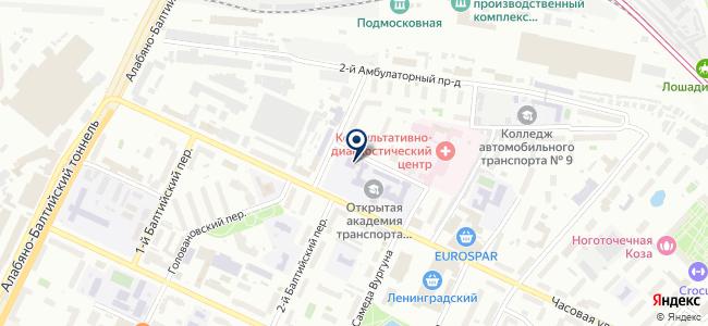 Евротеплострой, ООО на карте