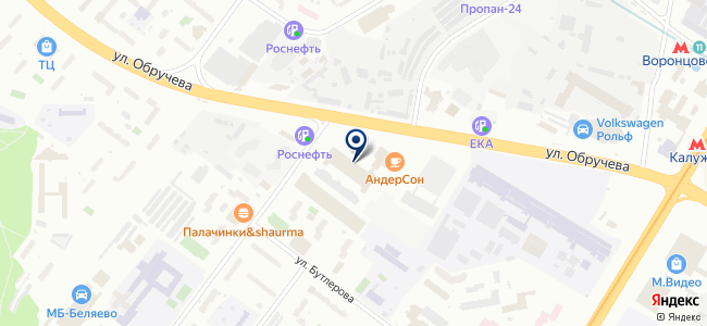 Black & Decker на карте