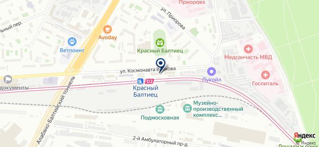 ВИСПРО на карте