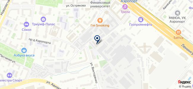 Автодар-сервис на карте