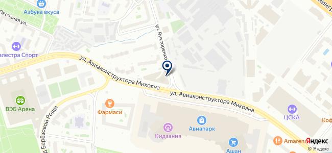 Артлайт Групп на карте
