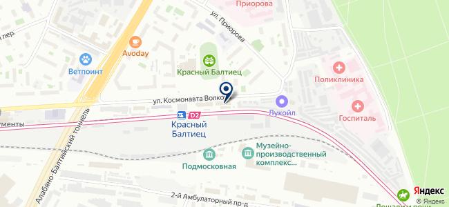 МДМ-ЛАЙТ на карте