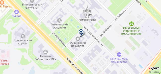 Серния, ЗАО на карте