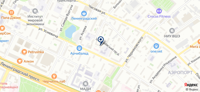 Управляющая Финансовая Компания, ООО на карте