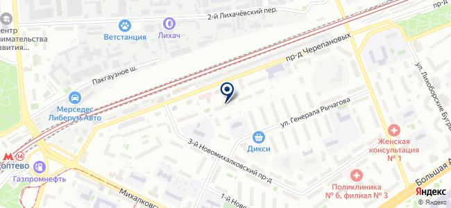 Дагэлектроавтомат, ОАО на карте