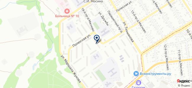 Магазин электротоваров и телефонов на карте