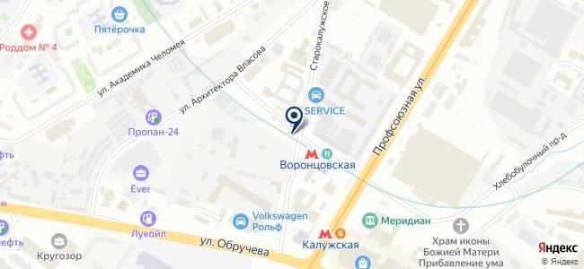 СТОА №4 на карте