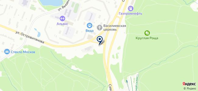 Строй-Кар на карте