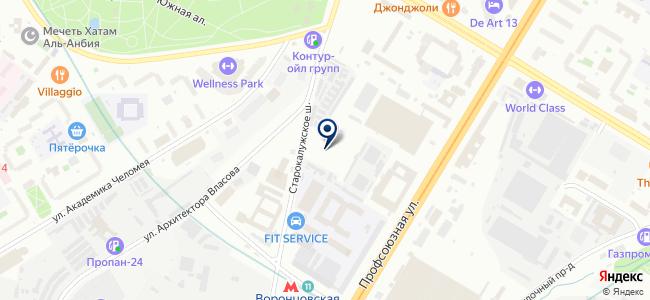 Электрик Проджект на карте
