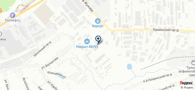 Центральная насосная компания, ЗАО на карте
