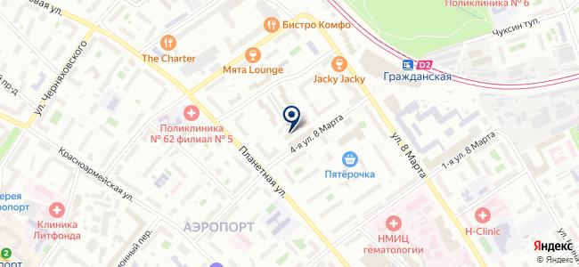 Модуль, ЗАО на карте