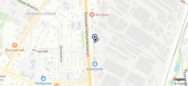 Специальное монтажное управление Подольский электромеханический завод, ОАО на карте