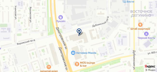 Дельта Про на карте