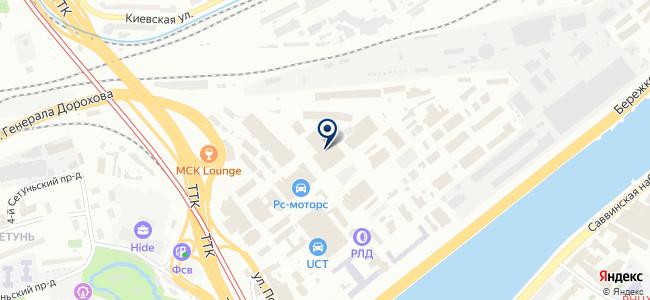 Файбер Телеком на карте