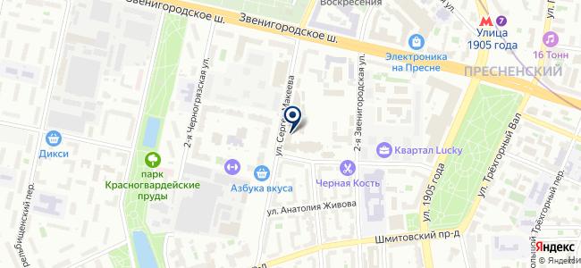 ИСТ-ПРО на карте
