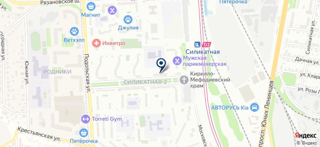 Эсполин на карте
