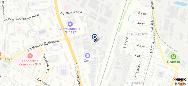 АВТОМИГ, ООО на карте