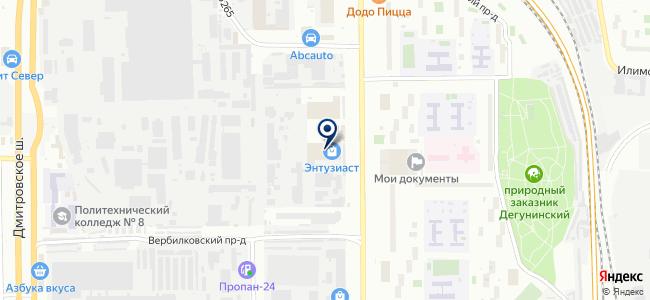 ЦЕНТРМЕТАЛЛ на карте