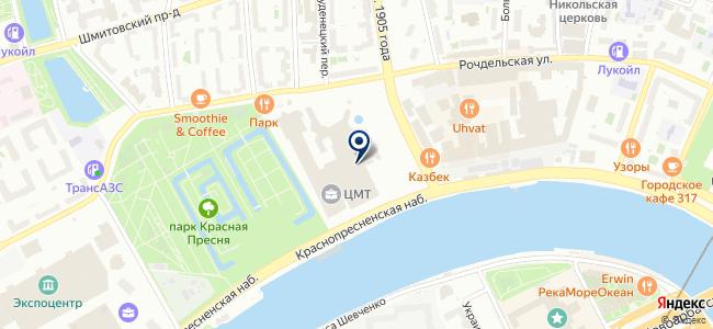 Е4-Магистраль на карте