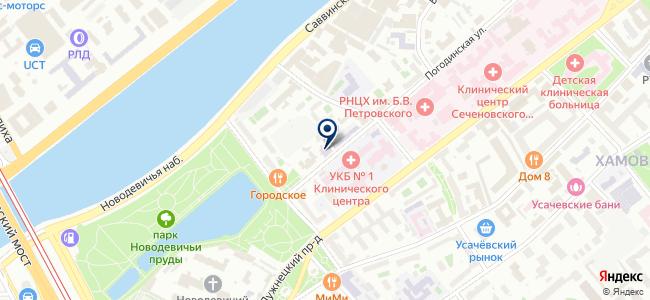 Изотоп, ОАО на карте