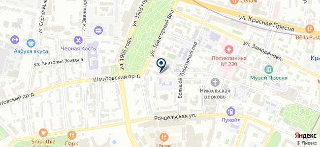 Комфинсервис, ООО на карте