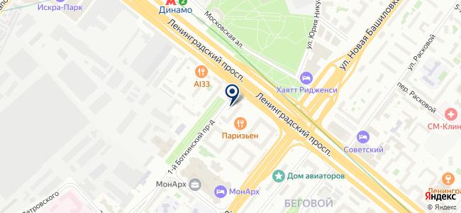 ИнСис Лтд на карте