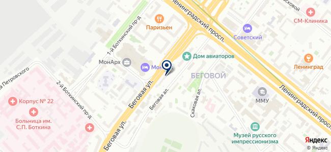 Plataform на карте