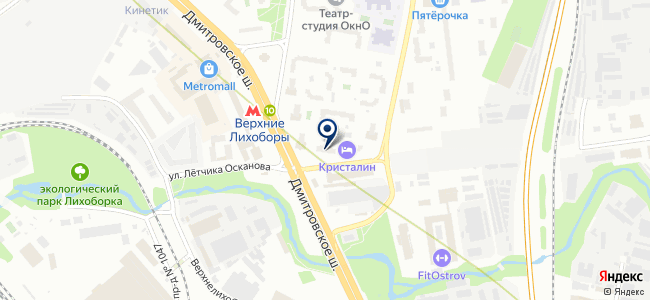 Сенсорика-М на карте