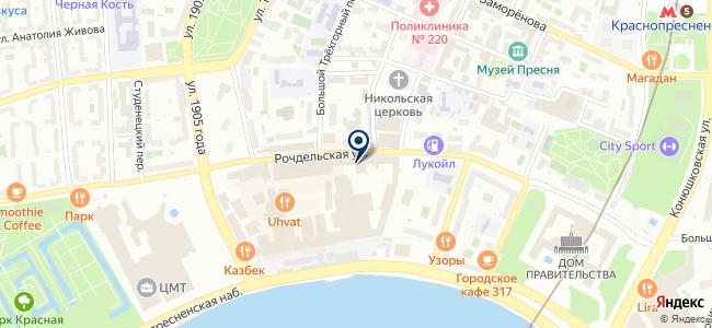 LEDWORK на карте