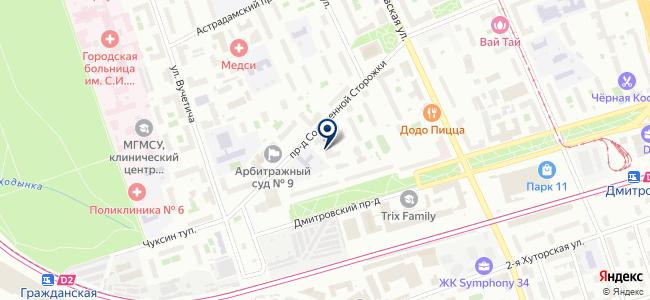 Гарант Строй МСК на карте