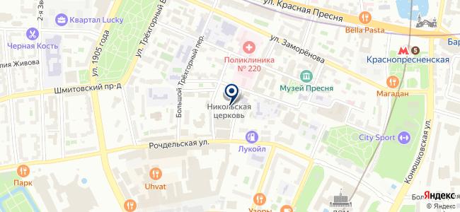 Б-ГРАФФ на карте