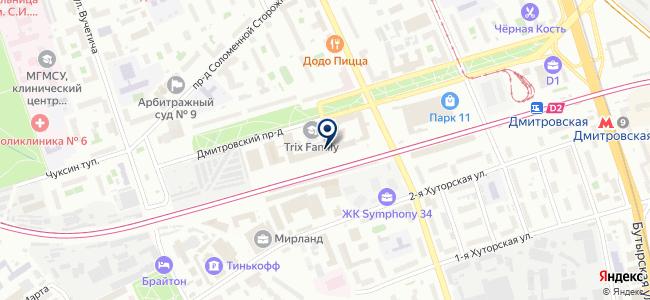 Термит на карте