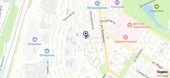 Спецприбор, ЗАО на карте
