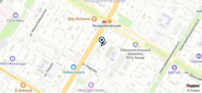 ПГС на карте