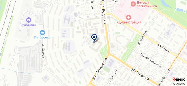 СитиПроект на карте
