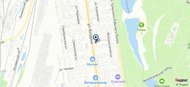 АИФ на карте