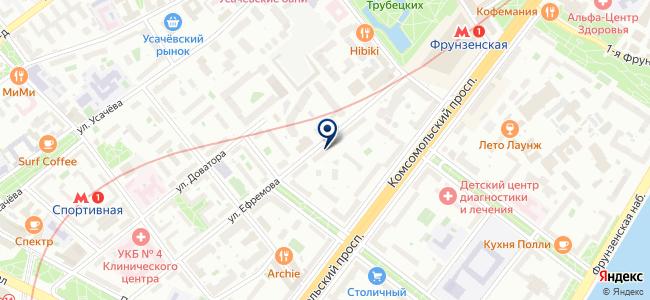 ОРИОН-М на карте